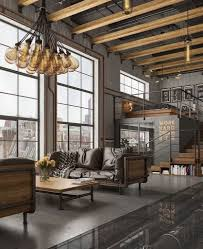 5 ideas for decorating the interior with industrial style