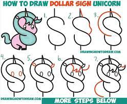 How Very Easy Unicorn Drawing To Draw A Step By Cute Cartoon Rhsdailycom An Rhzorocom