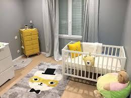 chambre bébé grise et chambre bebe gris jaune id es la cat s d chambre bebe bleu gris et