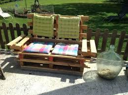 fabrication canapé palette bois canape en palettes canapac en bois de palette photos canape en