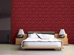 rote schlafzimmertapete wand hintergrund rot