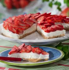 erdbeer quark kuchen