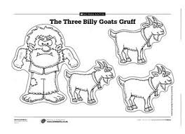 3 Billy Goats Gruff Printables