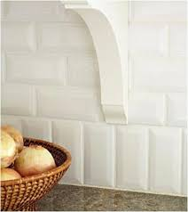 simple vertical relief pattern adds a catching detail to standard