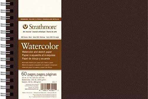 "Strathmore 400 Series Wire Bound Field Watercolor Book - 14""x11"""