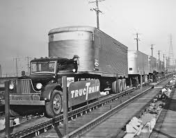 Old Trucks Being Loaded Onto Railroad Cars. First Long Haul Movement ... 7 Types Of Semitrucks Explained Trucks For Sale A Sellers Perspective Ausedtruck Trucking Industry In The United States Wikipedia Nikola Corp One Trestlejacks For Trailers Pin By Ray Leavings On Peter Bilt Trucks Pinterest Peterbilt Of Semi Truck Best 2018 Filefaw Truckjpg Wikimedia Commons Why Do Use Diesel Evan Transportation Heavy Duty Truck Sales Used February 2000hp Natural Gaselectric Semi Truck Announced Regulations Greenhouse Gas Emissions From Commercial