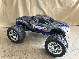 TRAXXAS REVO 3.3 Nitro RC Monster Truck 4WD Blue Body Great ... Traxxas Bigfoot Rc Monster Truck 2wd 110 Rtr Red White Blue Edition Slash 4x4 Short Course Truck Neobuggynet Offroad Vxl 2wd Brushless Cars For Erevo The Best Allround Car Money Can Buy X Maxx Axial Yetti Trophy Trucks Showcase Youtube Adventures 30ft Gap With A 4x4 Ultimate Mark Jenkins Scale Cars Best Car Reviews Guide Stampede Ripit Fancing Project Summit Lt Cversion Truck Stop Boats Hobbytown