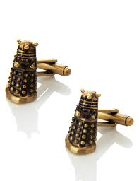 Dr Who Dalek Christmas Tree by Doctor Who Dalek Cufflinks M U0026s