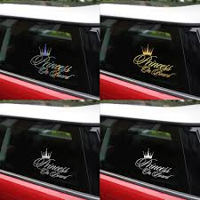 Car Stickers Decals Princess Baby On Board Stickers For Car Bumper ... Too Many Deeks Nah True North Trout Scorpion Vinyl Decal Car Stickers Truck Window Bumper Laptop Spider Best Of For Trucks Tsumi Interior Design On A Stock Photos Show Off Your Back Page 50 Ford F150 Forum Ada Gifted Funny Sticker 6 Inches In Billabong Surf Logo Carvanwindow New England Patriots Graphic Suv 12 Jdm Tuner Window Decal Stickers Your Car Or Truck Youtube Mustang Quarter Support Flag Matte Black With Thin Blue Clear Decalsclear Stickerscar Decals Business High Quality Decals
