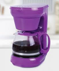 Purple 6 Cup Coffee Maker