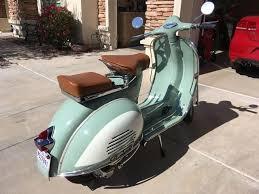SOLD Restored Modified 1966 Vespa VBC 150 Super Arizona USA