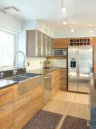 kitchen kitchen window kitchen lighting ideas wooden varnished