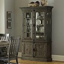magnussen bellamy wood china cabinet in pine china