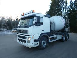 100 High Trucks Volvo Fm9 6x2R Rear Concrete And Trailers