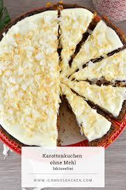 karottenkuchen ohne mehl