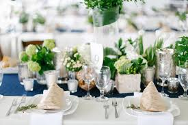 Tent Wedding with Chic Nautical Theme in San Diego Inside Weddings