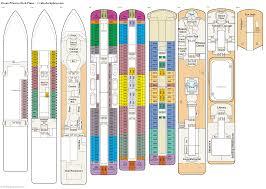 Images Deck Plans by Princess Deck Plans Diagrams Pictures