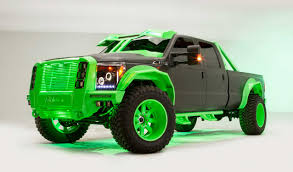 Fab Fours Krypton: Mean And Green Custom Truck