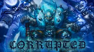 corrupted warrior deck hearthstone knights of the frozen