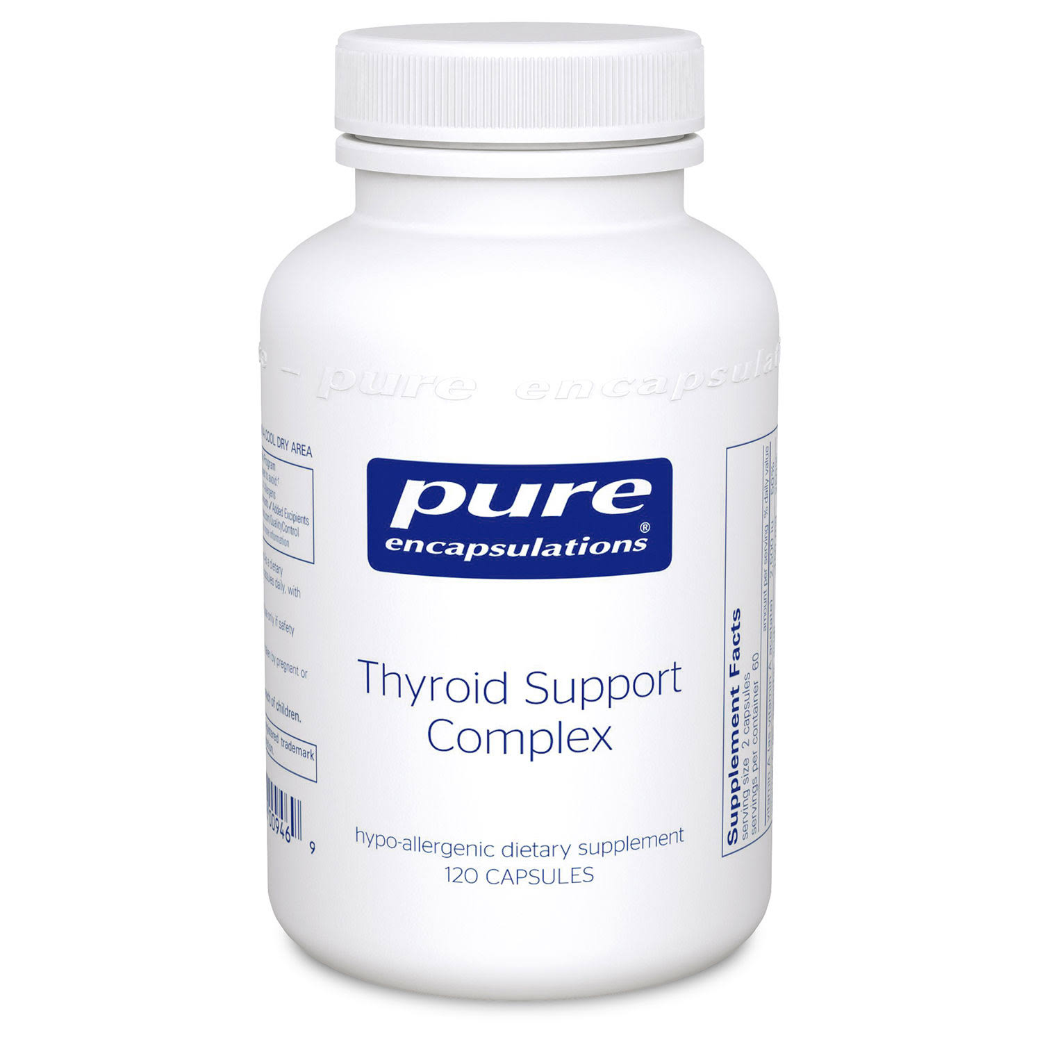 Pure Encapsulations - Thyroid Support Complex - 120 Capsules