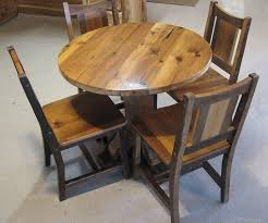 Round Barnwood Table 68