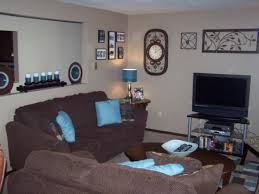 outstanding brown and teal living room design chocolate and teal