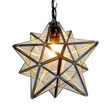 DIY Geometric Moravian Star Pendant Light Oof Thats A Mouth