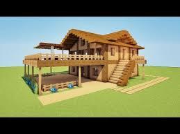 maison de luxe minecraft tuto maison de plage de luxe sur minecraft