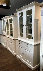 landhaus vitrine weißgroßer wohnzimmer schrank weiß neu