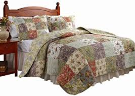 Greenland Home Bedding by Amazon Com Greenland Home Blooming Prairie Twin Quilt Set Home