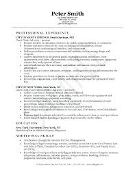 Clerical Resume Samples Court Clerk Example Examples Accounting And Administrative