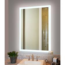innoci usa electric led mirror with back lit lights all around