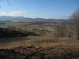View of Burkes Garden VA where my Poppy was born and raised