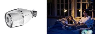 sony led light bulb speaker lspx 100e26j connected crib