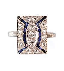 deco square rings 1411 best deco jewelry rings images on rings