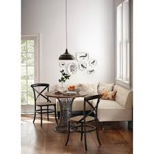Home Decorators Collection Lighting by Home Decorators Collection Easton Beige Linen Breakfast Nook