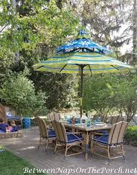 Pagoda Umbrella For Outdoor Table Dining 2