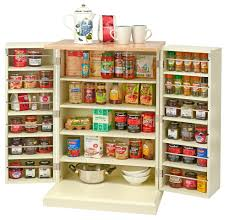 Stand Alone Pantry Cupboard by Traditional Buttermilk Multi Purpose Country Kitchen Freestanding