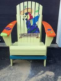 Custom Painted Margaritaville Adirondack Chairs by Amazon Com Margaritaville Painted Parrot In Hammock Adirondack