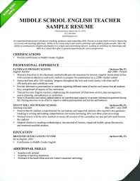 Resume For Computer Teacher Sample Format Samples Writing Guide Genius
