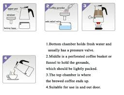 TINTON LIFE 2 Cup Coffee Percolator