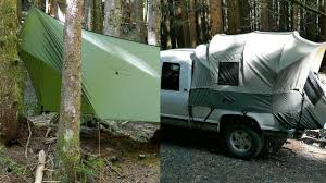 100 Kodiak Truck Tent Canvas And Warbonnet ThunderFly Tarp Overnight