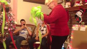 Saran Wrap Christmas Tree With Ornaments by Family Christmas Games 4 Youtube