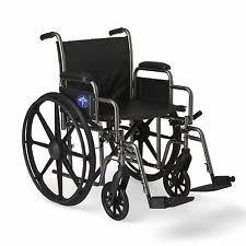 Medline Transport Chair Instructions by Medline Lightweight Wheelchairs Ebay