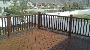 Certainteed Decking Vs Trex outdoor vinyl deck railing lowes lowes deck railing composite