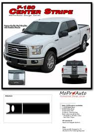 100 Ford Truck Decals F150 CENTER STRIPE Center Racing Stripes Vinyl Graphics