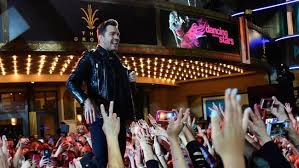 Singer Andy Grammer Performs Onstage At Last Months Live Finale Of ABCs Dancing With The
