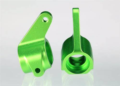 Traxxas 3636G RC Vehicle Aluminum Steering Blocks - Green