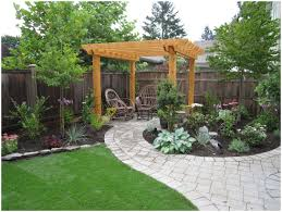 Backyards: Small Backyard Landscaping. Small Backyard Ideas ... Outdoor Living Cute Rock Garden Design Idea Creative Best 20 River Landscaping Ideas On Pinterest With Lava Fleagorcom Natural Landscape On A Sloped And Wooded Backyard Backyards Small Under Front Window Yard Plans For Of 25 Rock Landscaping Ideas Diy Using Stones Interior 41 Stunning Pictures Startling Gardens
