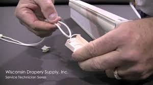 Traverse Curtain Rods Restringing by Continuous Cord Loop Repair Youtube